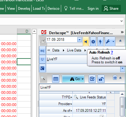 Market Data in Excel from Yahoo Finance - Resources